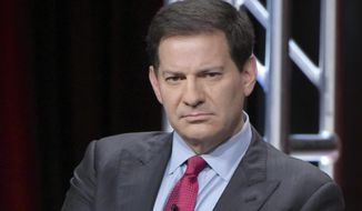 """In this Aug. 11, 2016 file photo, producer Mark Halperin participate in """"The Circus of Politics"""" panel during the Showtime Critics Association summer press tour in Beverly Hills, Calif. (Photo by Richard Shotwell/Invision/AP, File) **FILE**"""