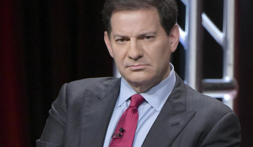 "FILE - In this Aug. 11, 2016 file photo, producer Mark Halperin participate in ""The Circus of Politics"" panel during the Showtime Critics Association summer press tour in Beverly Hills, Calif. Veteran journalist Halperin is apologizing for what he terms ""inappropriate"" behavior after five women claimed he sexually harassed them while he was a top ABC News executive. The co-author of the best-selling book ""Game Change"" told CNN Wednesday night, Oct. 25, 2017, that he's ""deeply sorry"" and is taking a ""step back"" from day-to-day work to deal with the situation. (Photo by Richard Shotwell/Invision/AP, File)"