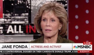 "Jane Fonda says the sexual abuse scandal surrounding disgraced Hollywood mogul Harvey Weinstein is getting so much air-time because his alleged victims are ""famous and white."" (MSNBC)"