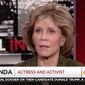 """Jane Fonda says the sexual abuse scandal surrounding disgraced Hollywood mogul Harvey Weinstein is getting so much air-time because his alleged victims are """"famous and white."""" (MSNBC)"""
