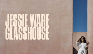 """This cover image released by Interscope Records shows """"Glasshouse,"""" by Jessie Ware. (Interscope Records via AP)"""