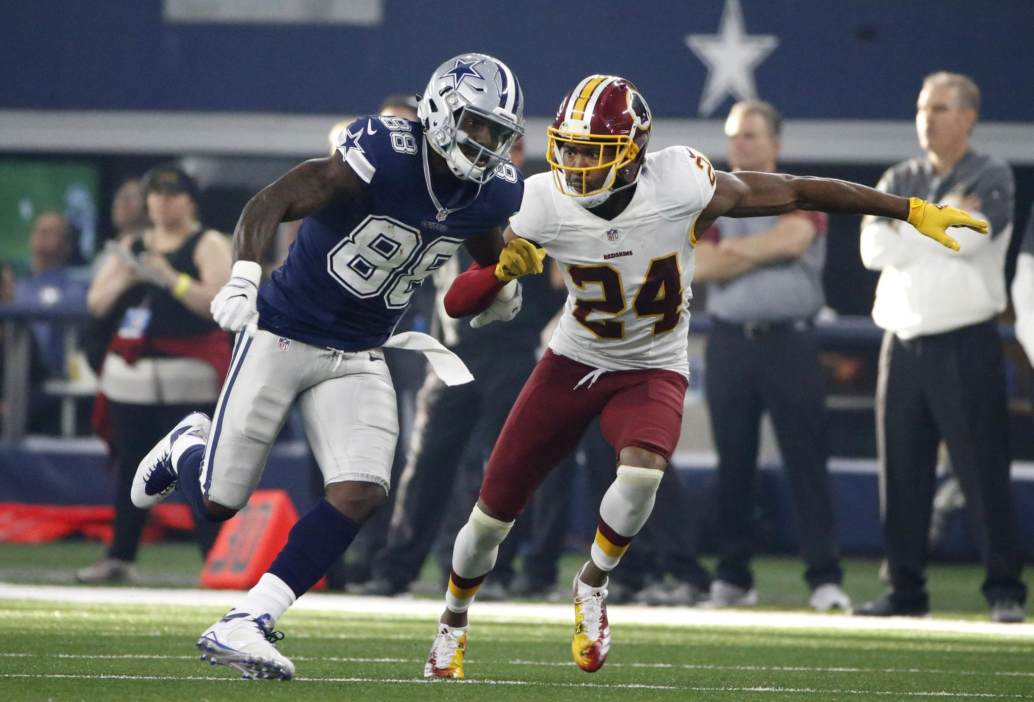 Josh Norman won't miss Dez Bryant when facing Cowboys - Washington Times