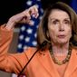 "House Minority Leader Nancy Pelosi, California Democrat, called her colleagues to arms against Republican tax reform she says will ""raise taxes on the middle class before the American people can see the damage it will cause."" (Associated Press)"