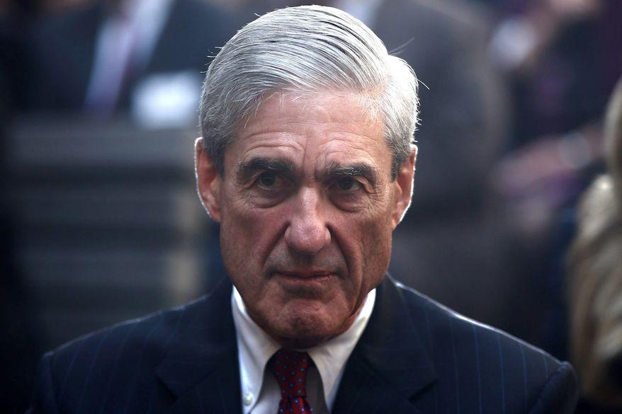 Special counsel Robert Mueller (Associated Press) **FILE**