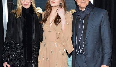 Actress Dakota Johnson. Parents: Actors Melanie Griffith and Don Johnson