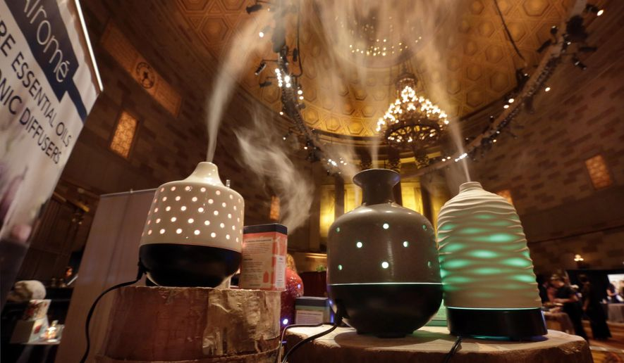 Fill your diffuser with plant-based essential oils for a true Aromatherapy experience. (Associated Press/File)