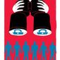 Illustration on keeping government sponsored surveillance legal by Linas Garsys/The Washington Times