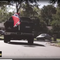 "The Latino Victory Fund's ad showed a pickup truck with a Confederate flag and an Ed Gillespie bumper sticker chasing down Muslim, Latino and black children, and accused the GOP candidate of spreading ""hate."""
