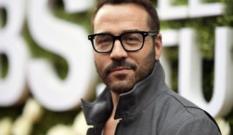 "FILE - In this Aug. 1, 2017 file photo, Jeremy Piven attends the CBS Summer Soiree during the 2017 Summer TCA's in Studio City, Calif. CBS says it's investigating a sexual harassment allegation against Piven, who currently stars in the CBS series, ""Wisdom of the Crowd."" Actress and reality star Ariane Bellamar claimed in posts on her Twitter account Monday, Oct. 30, that the Emmy-winning ""Entourage"" star groped her on two occasions. (Photo by Richard Shotwell/Invision/AP, File)"