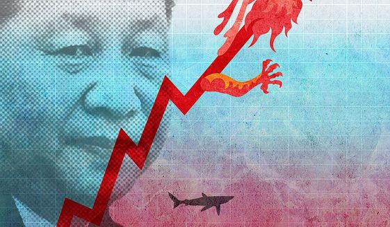 China Debt Illustration by Greg Groesch/The Washington Times