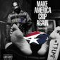 """Snoop Dogg is pictured standing over President Trump's dead body on the cover of his new EP titled, """"Make America Crip Again."""" (Instagram/@snoopdogg)"""