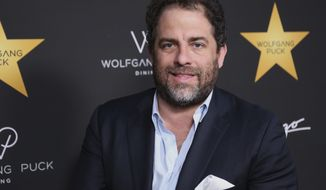 In this April 26, 2017 file photo, Brett Ratner arrives at the Wolfgang Puck's Post-Hollywood Walk of Fame Star Ceremony Celebration in Beverly Hills, Calif.  Hollywood's widening sexual harassment crisis ensnared another prominent film director when six women, Including actress Olivia Munn, accused Ratner of harassment or misconduct in a Los Angeles Times report, on Wednesday, Nov. 1. (Photo by Willy Sanjuan/Invision/AP, File)