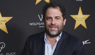 In this April 26, 2017, file photo, Brett Ratner arrives at the Wolfgang Puck's Post-Hollywood Walk of Fame Star Ceremony Celebration in Beverly Hills, Calif. Hollywood's widening sexual harassment crisis ensnared another prominent film director when six women, Including actress Olivia Munn, accused Ratner of harassment or misconduct in a Los Angeles Times report, on Wednesday, Nov. 1. (Photo by Willy Sanjuan/Invision/AP, File)