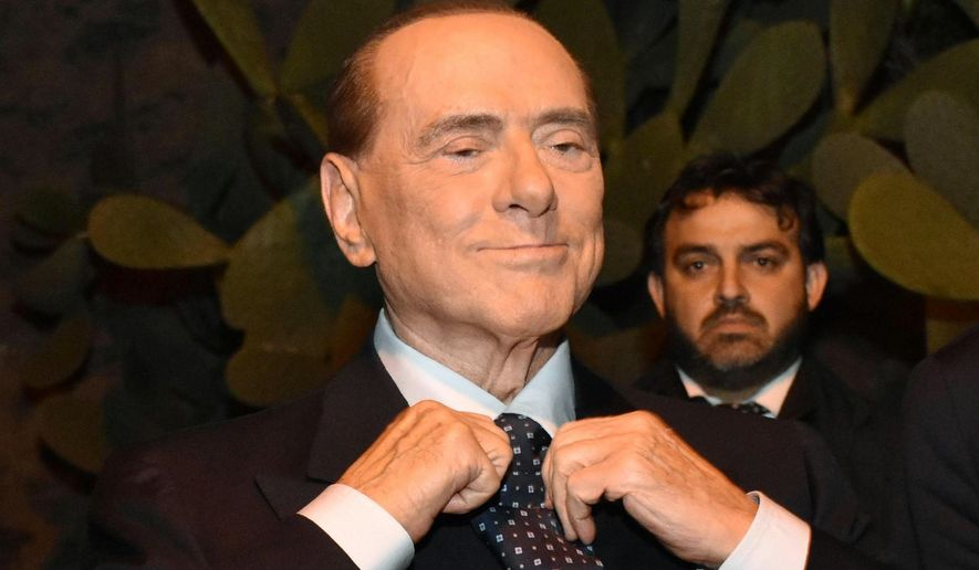 In an exquisite irony, the polarizing Silvio Berlusconi may be the most unifying figure on the Italian political scene. (Associated Press/File)