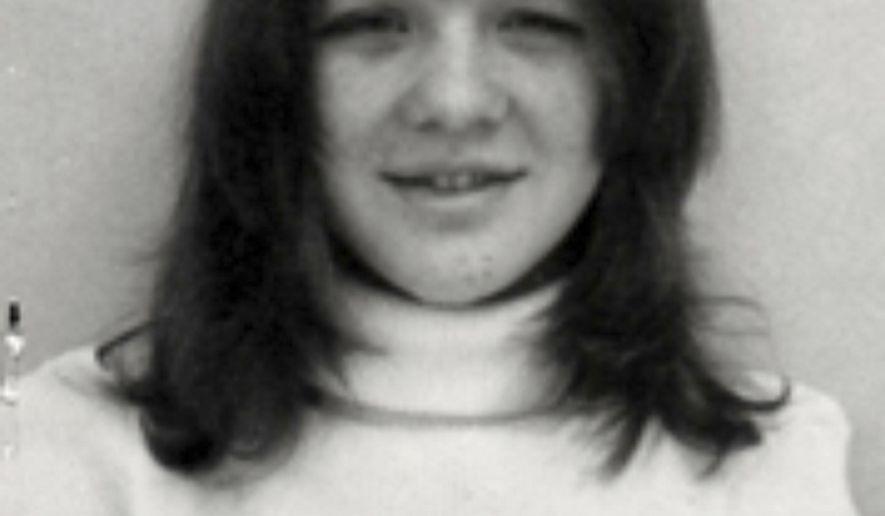This undated photo provided by the Marion County Sheriff's office shows Janie Landers. More than 38 years after Landers was brutally stabbed and beaten to death in Oregon, Oregon State Police have been able to solve the case and determined that Gerald Dunlap was solely responsible for Landers' murder. (Marion County Sheriff's Office via AP)