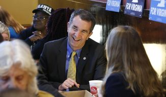 Virginia's closely watched race for governor between Democrat Ralph Northam and Republican Ed Gillespie was billed as one of the state's most racially charged campaigns in recent memory. (Associated Press/File)