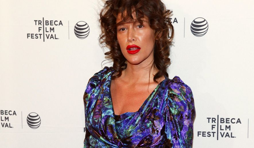 """FILE - In this April 19, 2015 file photo, Paz de la Huerta attends the Tribeca Film Festival world premiere of """"Bare"""" at the SVA Theatre in New York. The actress accused Weinstein of raping her two times in 2010 in a CBS News report that aired Thursday, Nov. 2, 2017. The Manhattan district attorney's office confirms it is investigating the claims along with New York police detectives. Weinstein through his spokeswoman has denied de la Huerta's accusations. (Photo by Andy Kropa/Invision/AP, File)"""