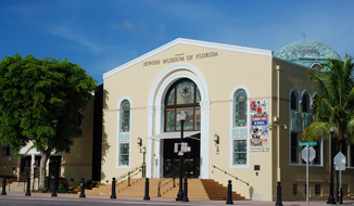 Jewish Museum of Florida in Miami Beach is depicted here in this Wikimedia Commons photo by user Alexf. A bomb threat on Nov. 2, 2017, against the venue led to the cancelation of planned celebration marking the 100th anniversary of the Balfour Declaration, which officially stated the U.K. government's dedication to establishing a Jewish homeland within Palestine in the Ottoman Empire.