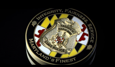 Screen capture from a Md. State Police video (Maryland State Police/YouTube)