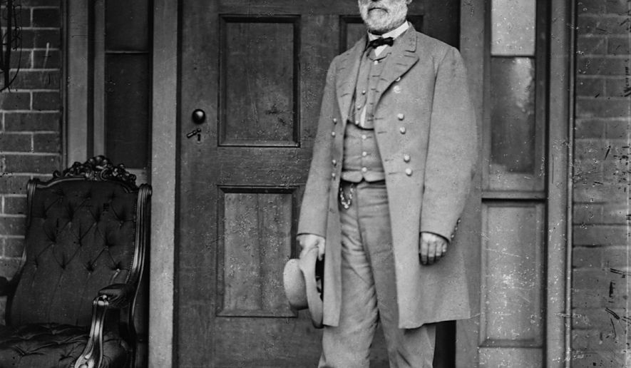Robert E. Lee (1807-1870), general of the Confederate Army in the Civil War. CORBIS