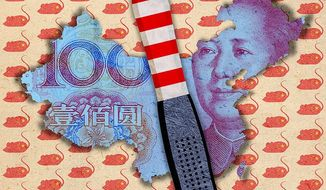 Dealing with the China Economy Illustration by Greg Groesch/The Washington Times
