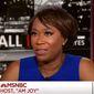 "MSNBC host Joy Reid. (Image: Twitter, ""AM Joy"" screenshot) ** FILE **"