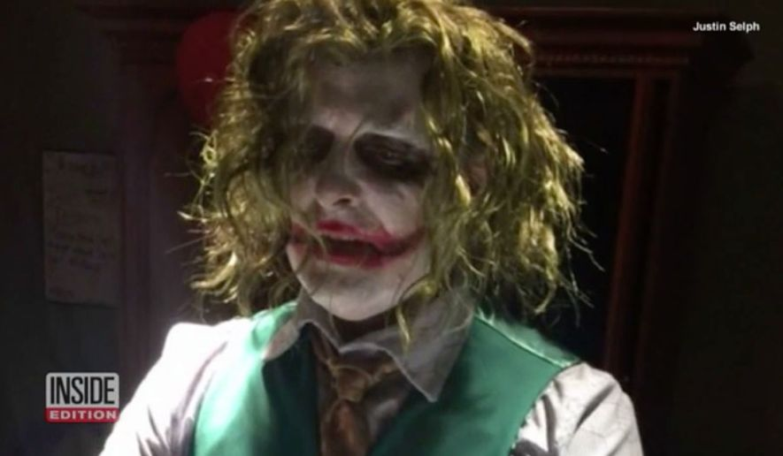 Doctor delivers baby on Halloween dressed as The Joker (Courtesy Inside Edition)