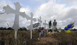 The gunman in Sunday's massacre at the First Baptist Church of Sutherland Springs, Texas, had a number of red flags that should have denied him access to a firearm. (Associated Press/File)