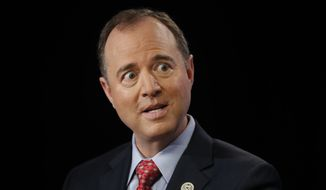 "Rep. Adam B. Schiff, California Democrat, on Wednesday labeled President Trump ""the worst president in modern history."" He previously said that one of his main objectives for the House Permanent Select Committee on Intelligence investigation is to find which parts of Christopher Steele's dossier are true. (Associated Press/File)"