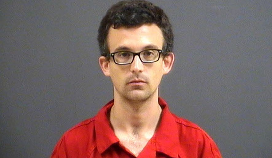 This undated photo provided by the Chesterfield County Police Department shows Frank X. Altimari, who was arrested Saturday, Nov. 4, 2017, in Richmond, Va., and charged in connection with the slaying of his father, Nicholas Altimari. Authorities believe he hit his father with a vehicle and then struck him with an ax. Altimari was found dead at his Chesterfield, Va., home on Saturday. (Chesterfield County Police Department via AP)