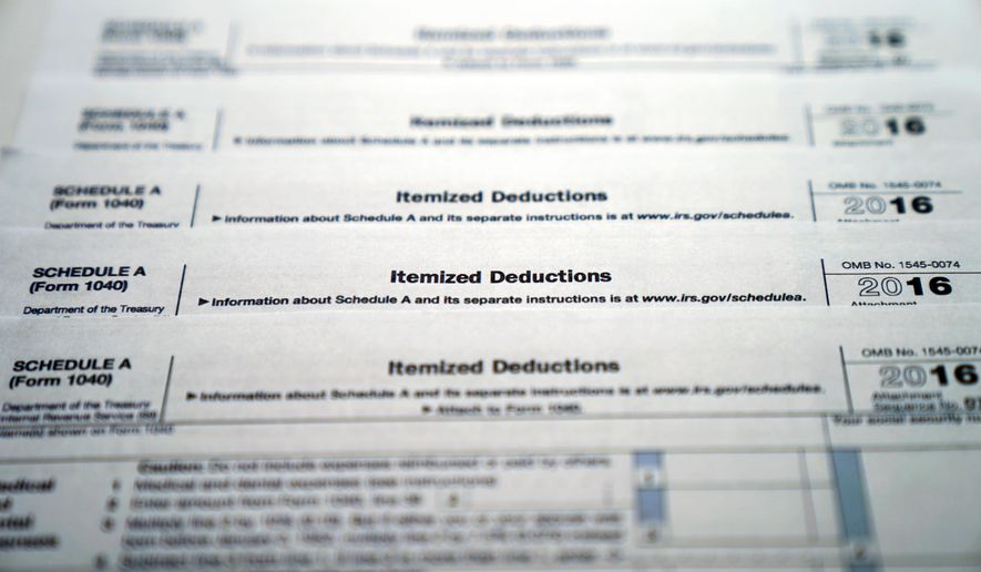 Repeal Of Medical Deduction Prompts Tax Bill Pushback Washington Times
