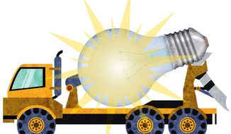 Turning Waste Material into Cement Illustration by Greg Groesch/The Washington Times
