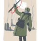 Illustration on the battle of Stalingrad by Linas Garsys/The Washington Times