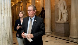 A bill co-sponsored by Rep. Bob Goodlatte, Virginia Republican, would require federal agents to get court permission to use data obtained via snooping in a criminal case. (Associated Press)