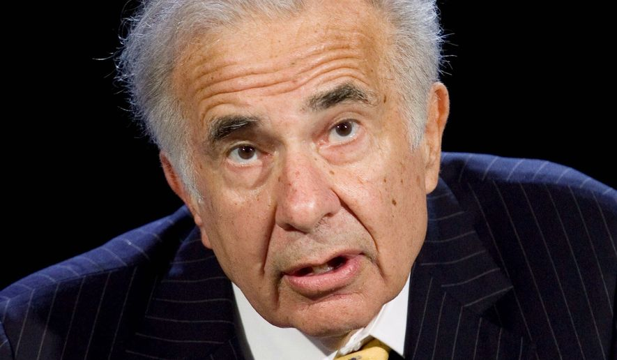 Carl Icahn (Associated Press) **FILE**