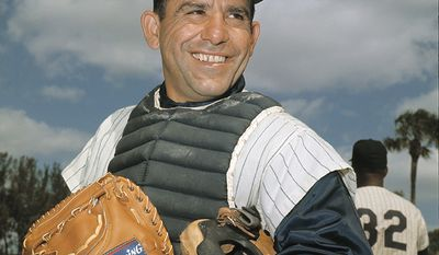 Yogi Berra played 19 seasons in Major League Baseball (194663, 1965), all but the last for the New York Yankees. He was an 18-time All-Star, and won 10 World Series championships as a playermore than any other player in MLB history. Berra had a career batting average of .285, while hitting 358 home runs and 1,430 runs batted in. He is one of only five players to win the American League Most Valuable Player Award three times. He is widely regarded as one of the greatest catchers in baseball history and was elected to the Baseball Hall of Fame in 1972. During World War II, Berra served in the U.S. Navy as a gunner's mate on the attack transport USS Bayfield during the D-Day invasion of France. A Second Class Seaman, Berra was one of a six-man crew on a Navy rocket boat, firing machine guns and launching rockets at the German defenses at Omaha Beach. He was fired upon, but was not hit, and later received several commendations for his bravery. During an interview on the 65th Anniversary of D-Day, Berra confirmed that he was sent to Utah Beach during the D-Day invasion as well