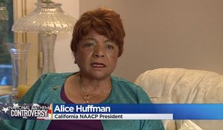 "California NAACP President Alice Huffman is calling on Congress to remove ""The Star-Spangled Banner"" as the country's national anthem, calling it ""racist."" (CBS13)"