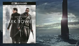 """The Dark Tower"" is now available on 4K Ultra HD from Sony Pictures Home Entertainment."
