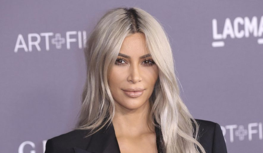 In this Nov. 4, 2017, file photo, Kim Kardashian West arrives at the LACMA Art + Film Gala at the Los Angeles County Museum of Art in Los Angeles. (Photo by Willy Sanjuan/Invision/AP, File)