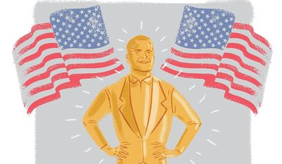 Illustration on Mark Cuban by Linas Garsys/The WAshington Times