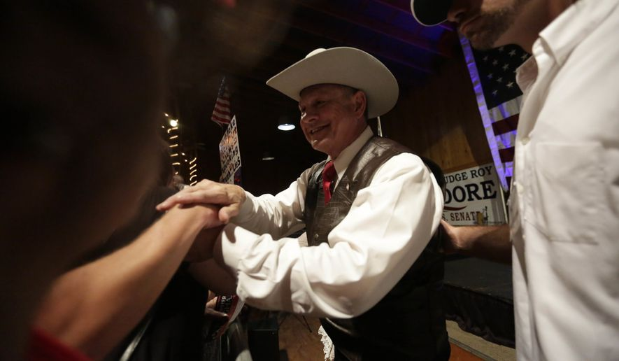 Washington GOP tries to oust Republican nominee Roy Moore in Alabama Senate race
