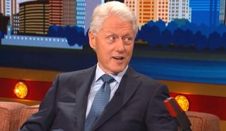 """Former President Bill Clinton appears on """"Conan"""" to discuss his time in the White House on Nov. 8, 2017. (YouTube, Team Coco)"""