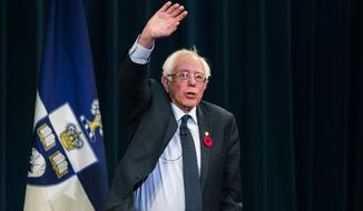 Sen. Bernard Sanders identifies as an independent for voters back home in Vermont but caucuses with Democrats on Capitol Hill and is deeply invested in the party's politics. (Associated Press/File)