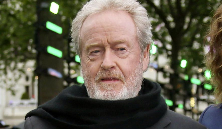 Ridley Scott's logic for President Trump's tax reform sounds like something you might hear on conservative talk radio. (Associated Press/File)