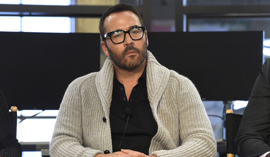 "In this Aug. 1, 2017, file photo, Jeremy Piven participates in the ""Wisdom of the Crowd"" panel during the CBS Television Critics Association Summer Press Tour at CBS Studio Center in Beverly Hills, Calif. (Photo by Chris Pizzello/Invision/AP, File)"
