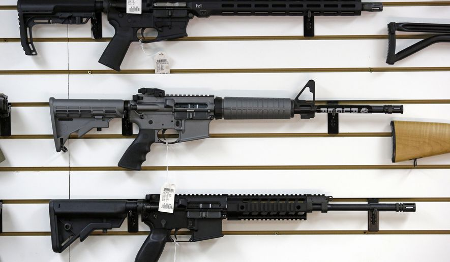 new zealand gun control threat sparks run on semi automatic weaponsa ruger ar 15 semi automatic rifle, center, the same model,