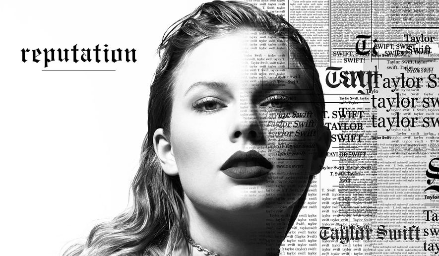 "This cover image released by Big Machine shows art for her upcoming album, ""reputation,"" expected Nov. 10. (Big Machine via AP)"