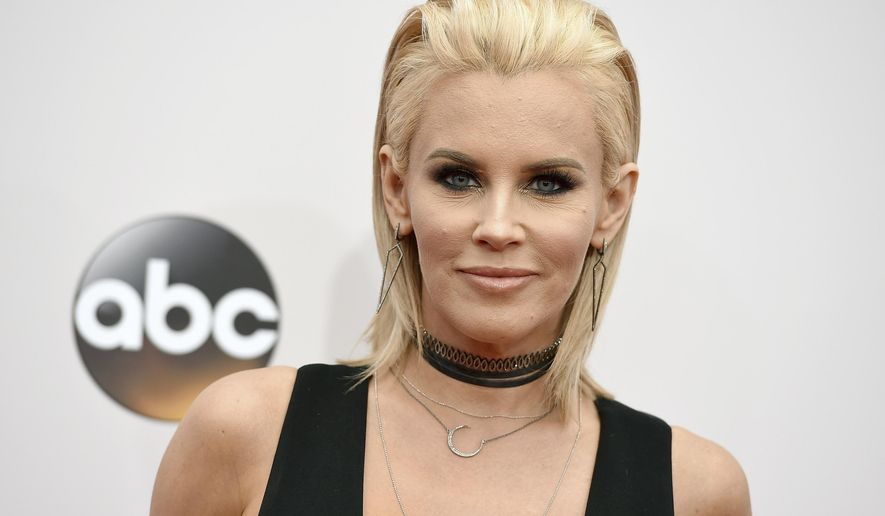 In this Nov. 20, 2016 file photo, Jenny McCarthy arrives at the American Music Awards at the Microsoft Theater in Los Angeles. (Photo by Jordan Strauss/Invision/AP, File)