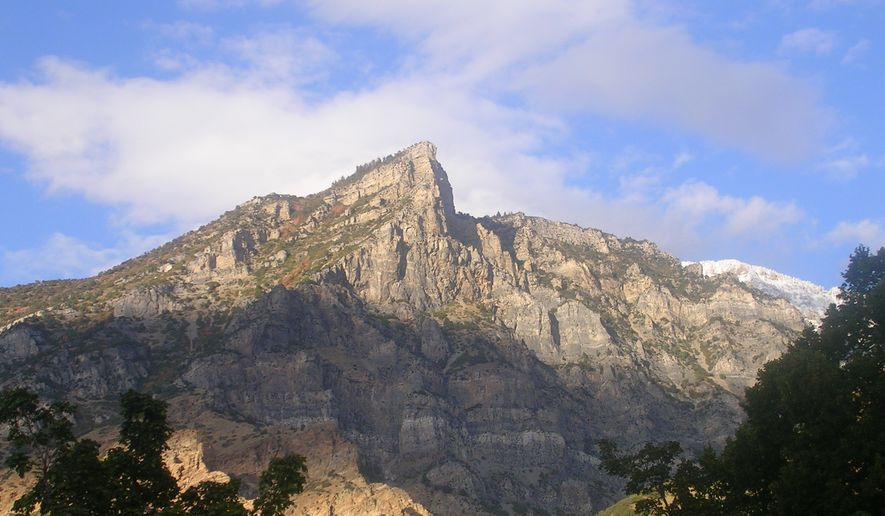 Utah's Squaw Mountain, also known as Squaw Peak, is shown in this photo via SummitPost.org [http://images.summitpost.org/original/226874.JPG]