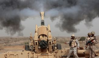 Saudi Arabia has been cultivating substantial military assets for decades, and its arsenal outnumbers Iran's both in quantity and quality. (Associated Press/File)